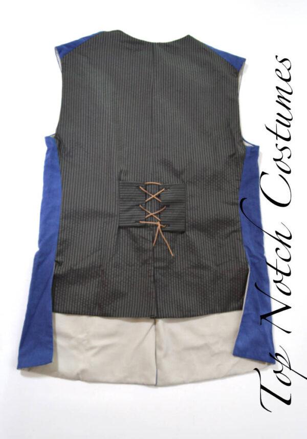 jack sparrow waistcoat back