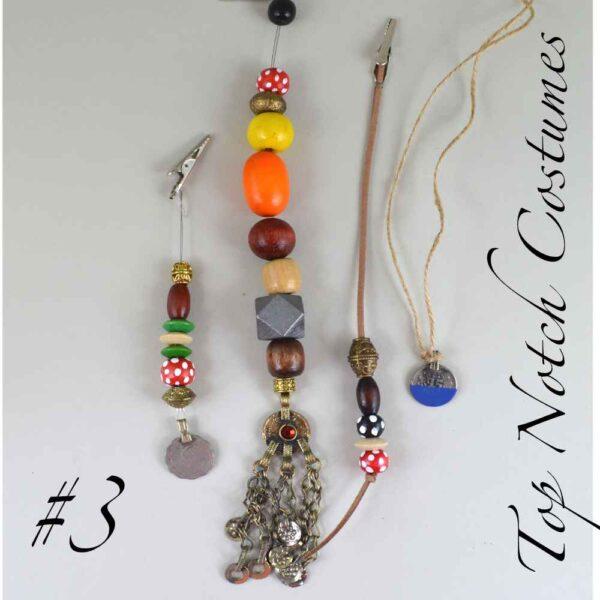 jack sparrow replica jewelry set